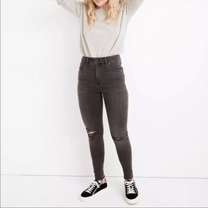 Madewell Curvy High Rise Skinny Plus Size Jeans